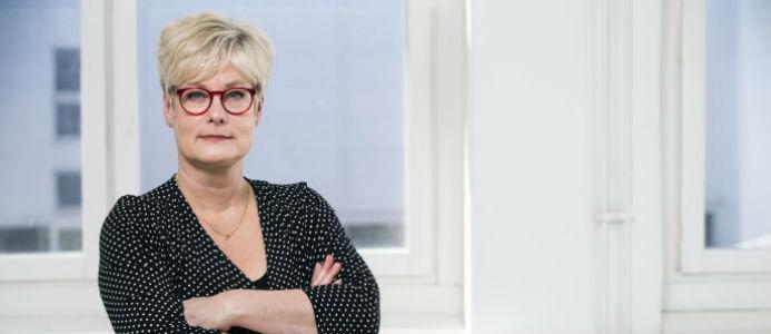Marie Linder, förbundsordförande för Hyresgästföreningen. Foto: Hyresgästföreningen