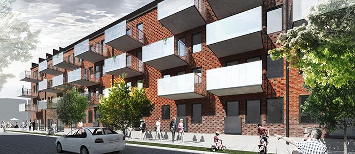 Trelleborgshem bygger centrala bostäder