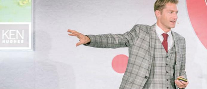 Ken Hughes, rådgivare till några av världens mest kända varumärken. Foto: EasyFairs