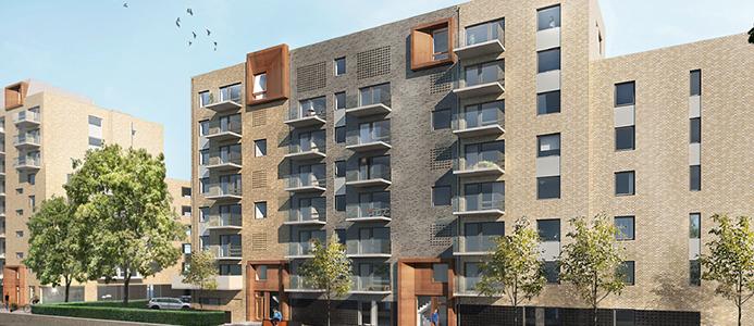 Wästbygg bygger åt Riksbyggen i Helsingborg