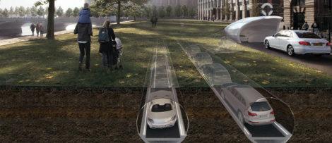 biltunnlar, RISE, autonoma fordon