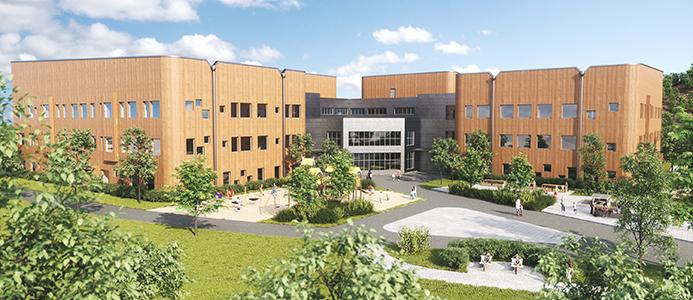 Ny skola i Skellefteå