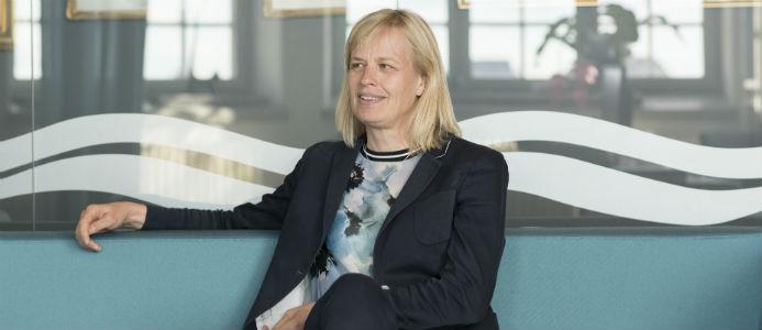 Katarina Norén, Sjöfartsverkets generaldirektör.