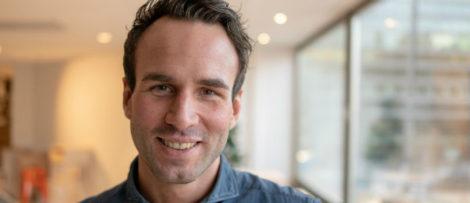 Sebastian Wickert, ny VD på Booli och Hittamäklare.