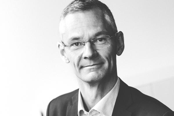 Robin Carlsson, affärsområdesansvarig för reservkraft på Coromatic. Foto: Coromatic
