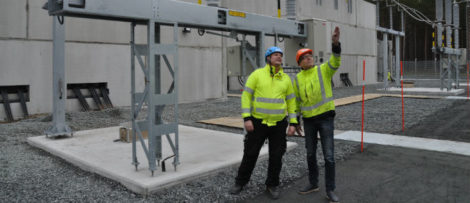 Lars-Göran Färdig och Patrik Johansson. Foto: Rejlers Sverige AB