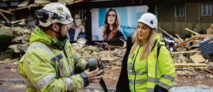 Göteborgs stad satsar på att minska avfallet i byggsektorn