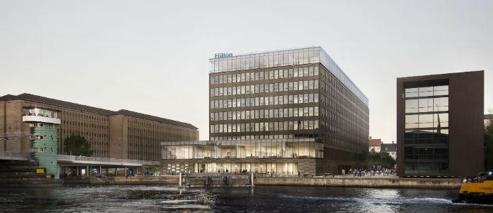 ncc, Arkitema Architects, hilton, bygge, hotell