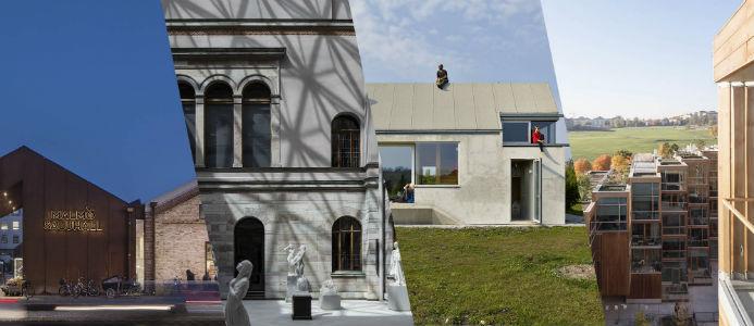Nominerade. Bild: Sveriges Arkitekter