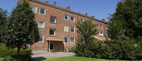Renovering av klassiskt kvarter i Halmstad.
