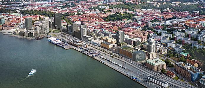 Masthuggskajen i Göteborg