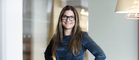 Mia Häggström, Hållbarhetschef Miljö och Teknik, Fabege. Foto: Fabege