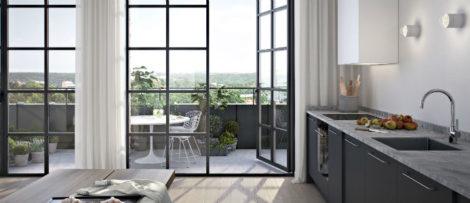 Oscar Properties, kvarnholmen, bostäder, bygge