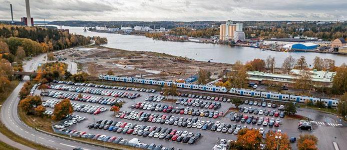 Östertälje pendeltågsstation. Fotograf: Södertälje kommun