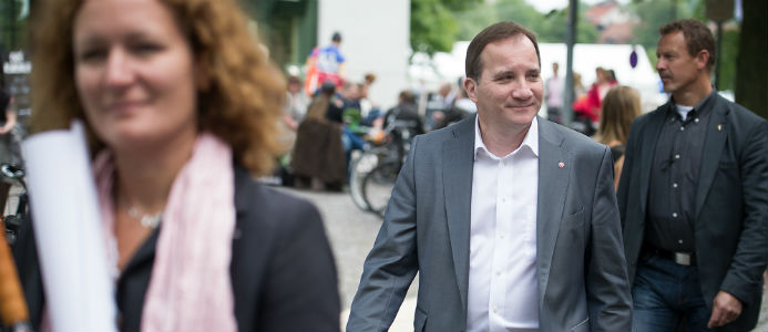 Socialdemokraterna i Almedalen 2014. Foto: Anders Löwdin