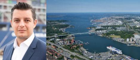 Elvir Dzanic, vd på Göteborgs Hamn AB Bildkälla: Göteborgs hamn