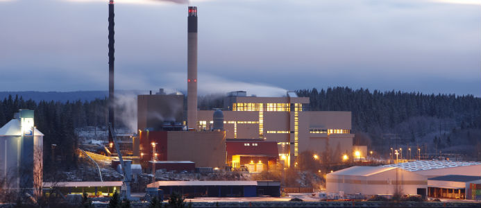 Korstaverket. Foto: Sundsvall Energi
