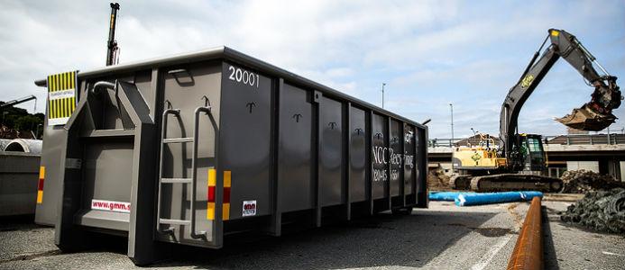 NCC säljer sin danska återvinningsverksamhet till RGS Nordic. Foto: NCC