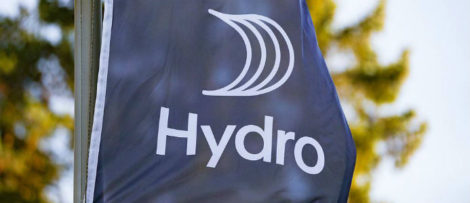 Norsk Hydro har angripits i en cyberattack. Arkivbild Bild: Fredrik Hagen NTB/Scanpix/TT