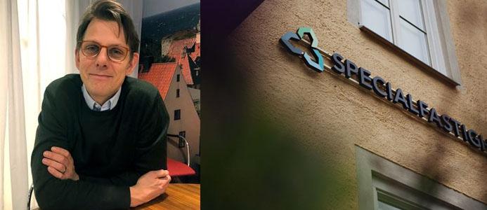 Henrik Därth, affärsområdeschef Specialfastigheter. Bild: Specialfastigheter