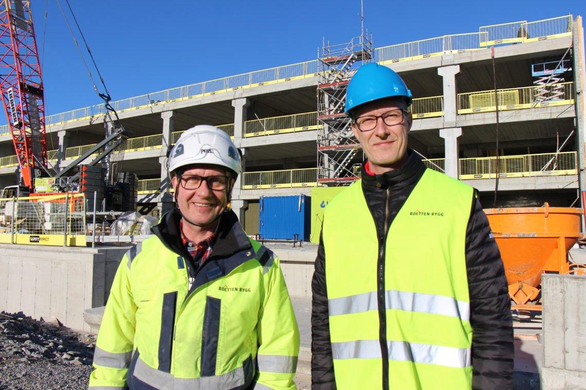 Johan och Lennart: Fotograf: Myrna Whitaker