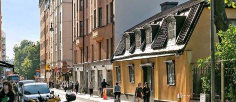 Bostadspriserna fortsatte upp i juli. Bild : Fastighetsbyrån
