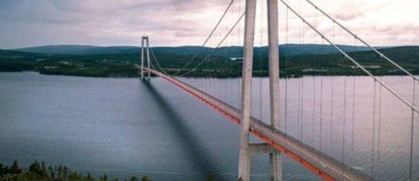 Svevia sköte brounderhållet på Högakustenbron och Sundsvallsbron. Foto: Pixabay