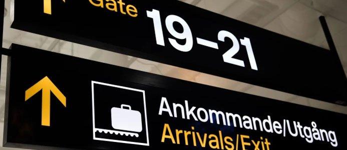 Flygresandet minskade kraftigt under årets första kvartal. Bildkälla Transportstyrelsen