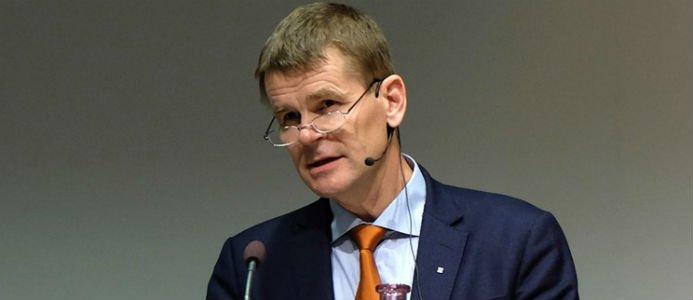 Herman Sundqvist på Virkesforum. Foto: Anders Roth