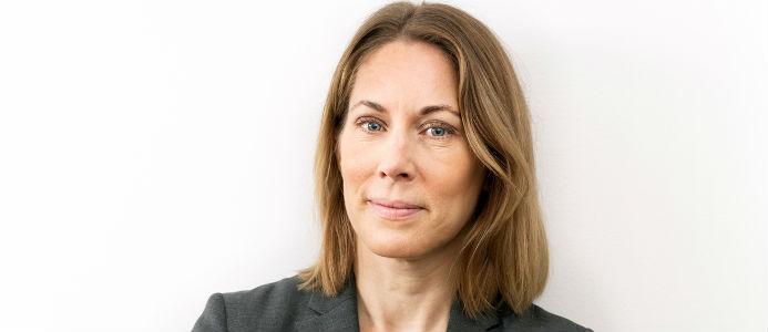 Jenny Stenberg, vd på Fastighetsmäklarförbundet.