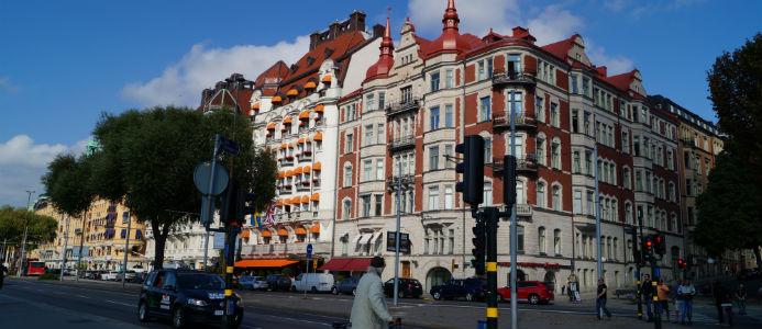 Landets högsta kvadratmeterpriser finns på Östermalm i Stockholm. Foto: Алексей Решетников