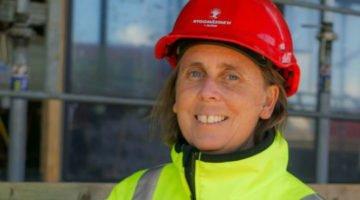 Hon blir ny ordförande för Sveriges Byggindustrier