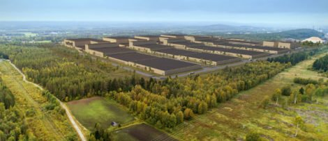 Logistic Contractor ska bygga batterifabriken i Skellefteå. Bild: Northvolt