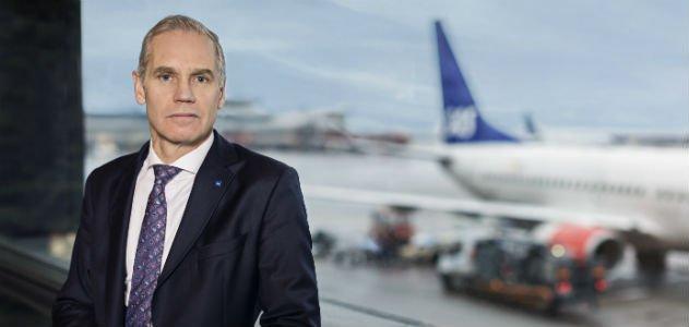 SAS vd Rickard Gustafson hävdar att löneökningen de facto motsvarar märket. Bild: SAS
