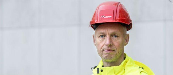 Torbjörn Hagelin, avtalssekreterare Byggnads. Foto: Byggnads