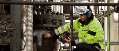 Inspektion av tryckutrustning. Foto: Kiwa Inspecta