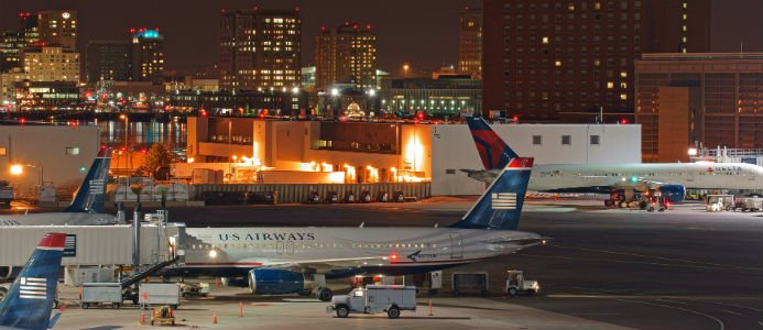 Avtalet gäller bland annat byggnation av ett nytt skärmtak över terminal C på Logan International Airport i Boston.Foto: Wikimedia Commons / Anthony92931