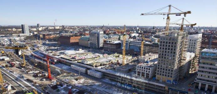 Foto: Lennart Johansson, Hagastaden, Stockholms stad