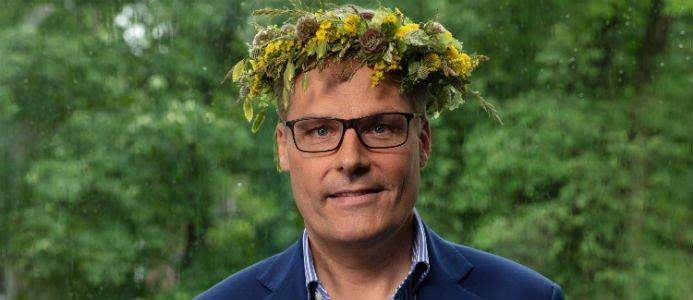 Ola Serneke är en av årets sommarpratare. Foto: Sveriges Radio