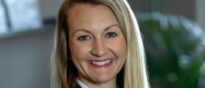 Sara Liljevall ny affärsutvecklare på Logistic Contractor. Fotograf: Anna Sigge