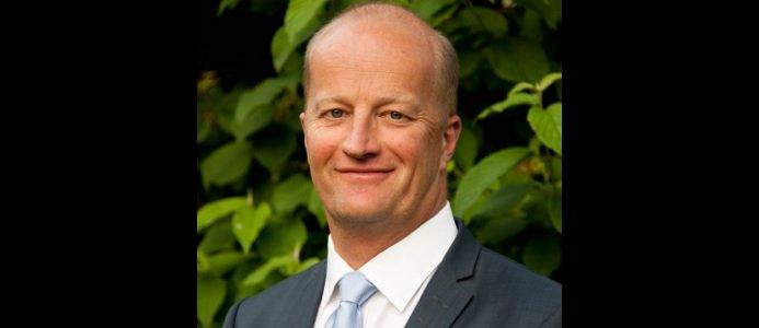 Jonas Åkerman är VD för CHR Bygga Bostäder Holding AB. FOTO: CHR Bygga Bostäder