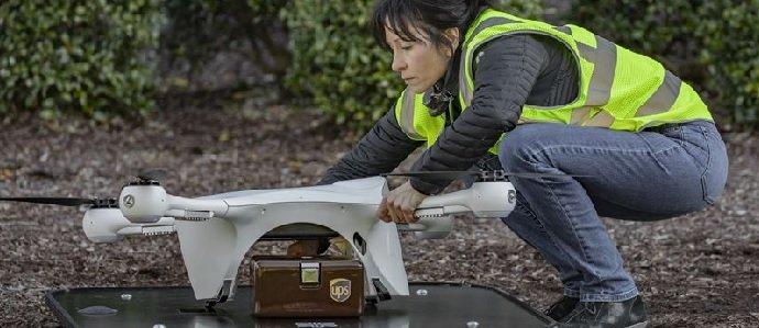 UPS startar bolag för drönarleveranser. FOTO: UPS