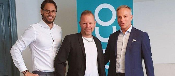 Robin Boheman, Thomas Persson och Klas Larsson. Fotograf: Instalco