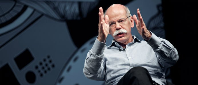 Dieter Zetsche, avgående vd för Daimler. Foto: (cc) Gregor Fischer I re:publica 2013