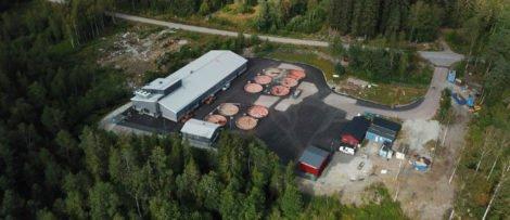 Genom den innovativa anläggningen, som är den första i sitt slag i Sverige, går det att värmeväxla för att förbättra förutsättningarna för både fiskarna och miljön. Bild: Fortum