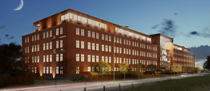 Illustration. Kontoret där Mimer ska ha sitt kontor tillsammans med Mälarenergi och Vafab Miljö. Fotograf/Källa: ET Cetera