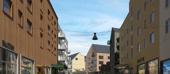 Nya Kiruna centrum, kvarter 7,8 och 9