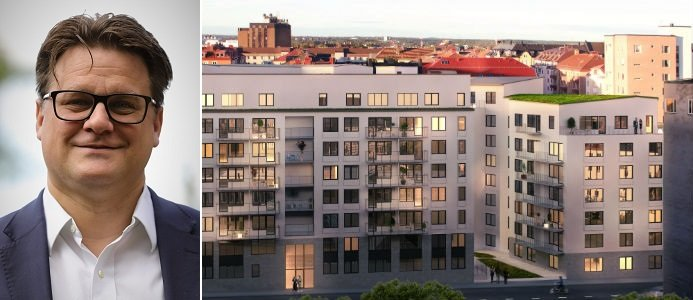 Mattias Lundgren är tillförordnad vd för SSM Bild:/Foto: SSM