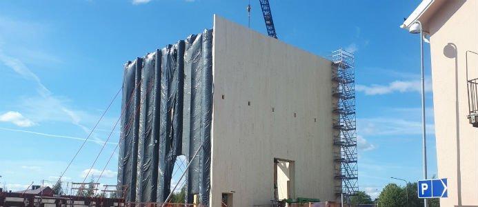 Ett år in i bygget av kulturhuset i Skellefteå pekar prognosen på en avvikelse på en knapp procent. Bild: Wikipedia