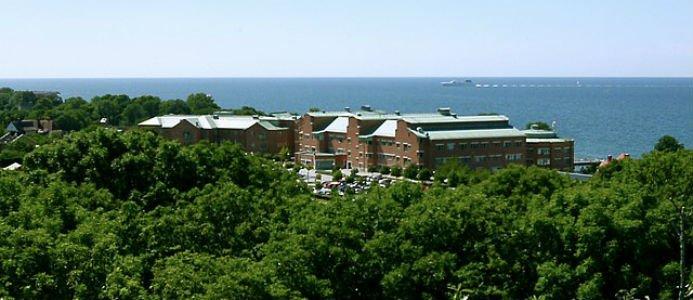 Visby lasarett. Foto: W. Carter / Wikipedia